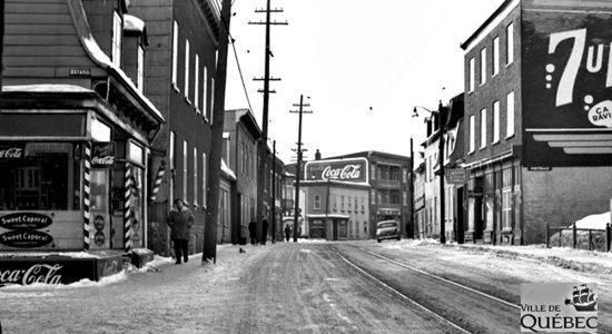 Saint-Sauveur dans les années 1940 (27) : rue Saint-Vallier Ouest - Jean Cazes