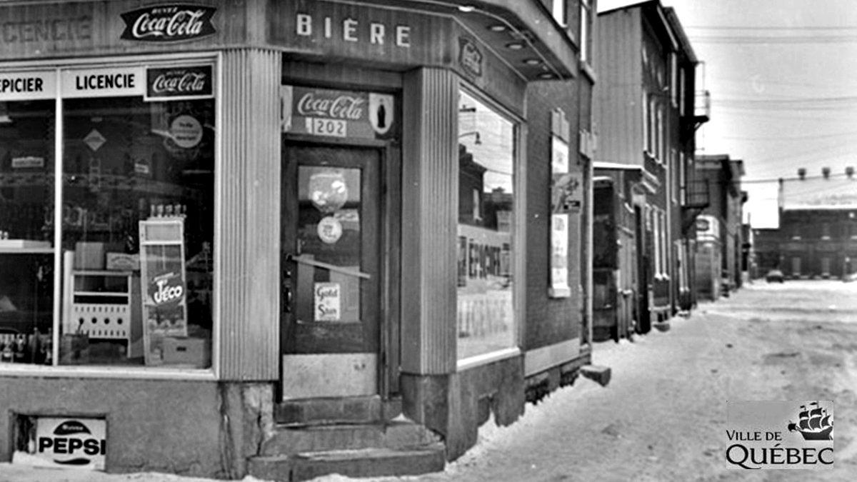 Saint-Sauveur dans les années 1960 (31) : l'épicerie A. Marcotte | 22 décembre 2019 | Article par Jean Cazes