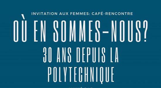 Café-rencontre: 30 ans de Polytechnique