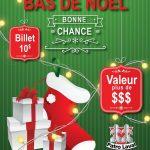 Le bas de Noël est de retour - Patro Laval