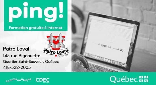 Ping au Patro Laval Module 3 Utilisation d'un courriel