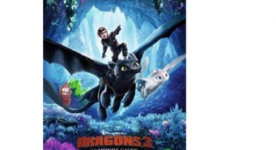 Cinéma en famille – Dragons 3: le monde caché