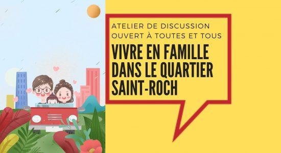 Vivre en famille dans le quartier Saint-Roch