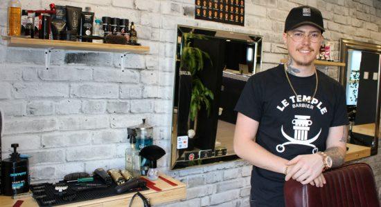 Un nouveau barbier fait son entrée sur Langelier - Véronique Demers