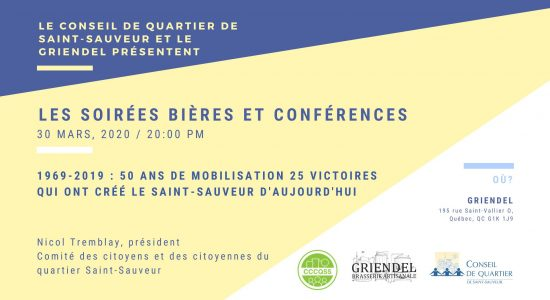 Quartier Saint-Sauveur: 50 ans de mobilisation citoyenne