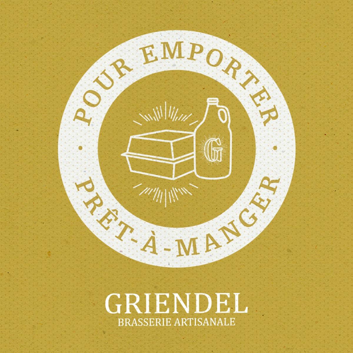 Pour emporter & prêt à manger   Griendel – Brasserie Artisanale