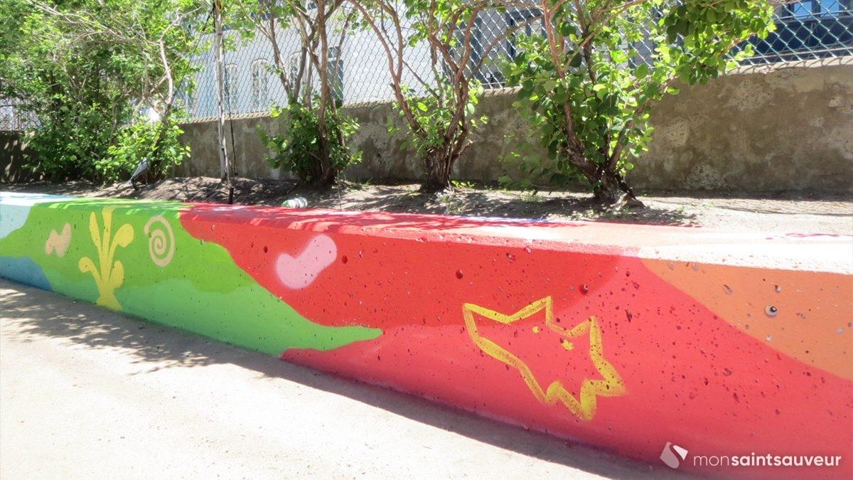 Un parc du Bas Bijou prend des couleurs | 18 juin 2020 | Article par Suzie Genest