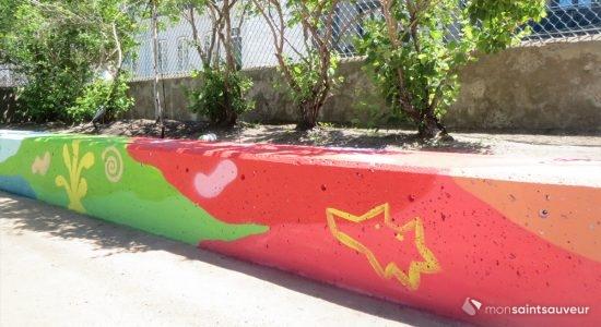 Un parc du Bas Bijou prend des couleurs - Suzie Genest