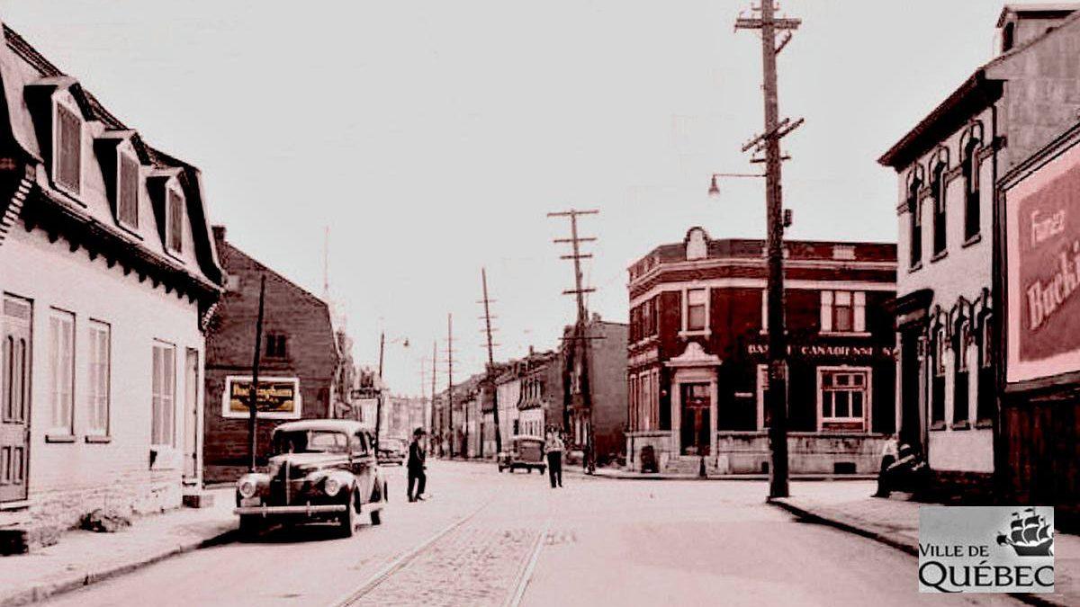 Saint-Sauveur dans les années 1940 (28) : intersection Saint-Vallier et Marie-de-l'Incarnation | 12 juillet 2020 | Article par Jean Cazes