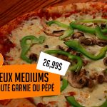 2 médiums pour 26,99$ - Kyran-O-Pizza
