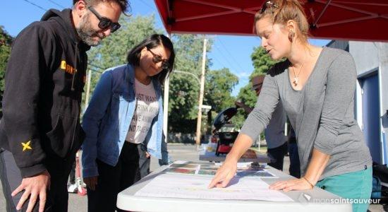 « Sous les pavés »: un plan pour le premier aménagement dans Saint-Sauveur - Véronique Demers