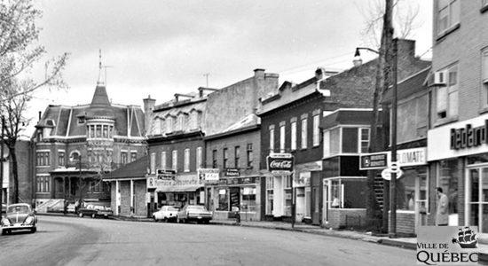 Saint-Sauveur dans les années 1960 (29) : rue Saint-Vallier Ouest - Jean Cazes