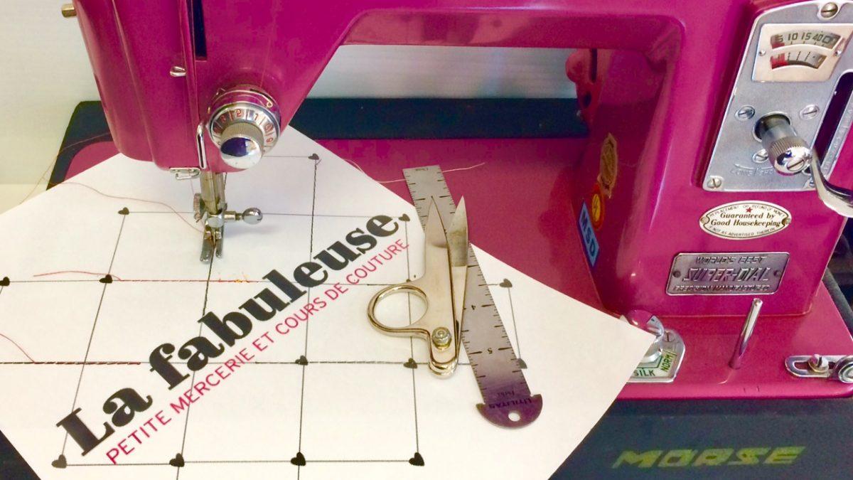 La Fabuleuse : un atelier-boutique de couture | 25 septembre 2020 | Article par Véronique Demers