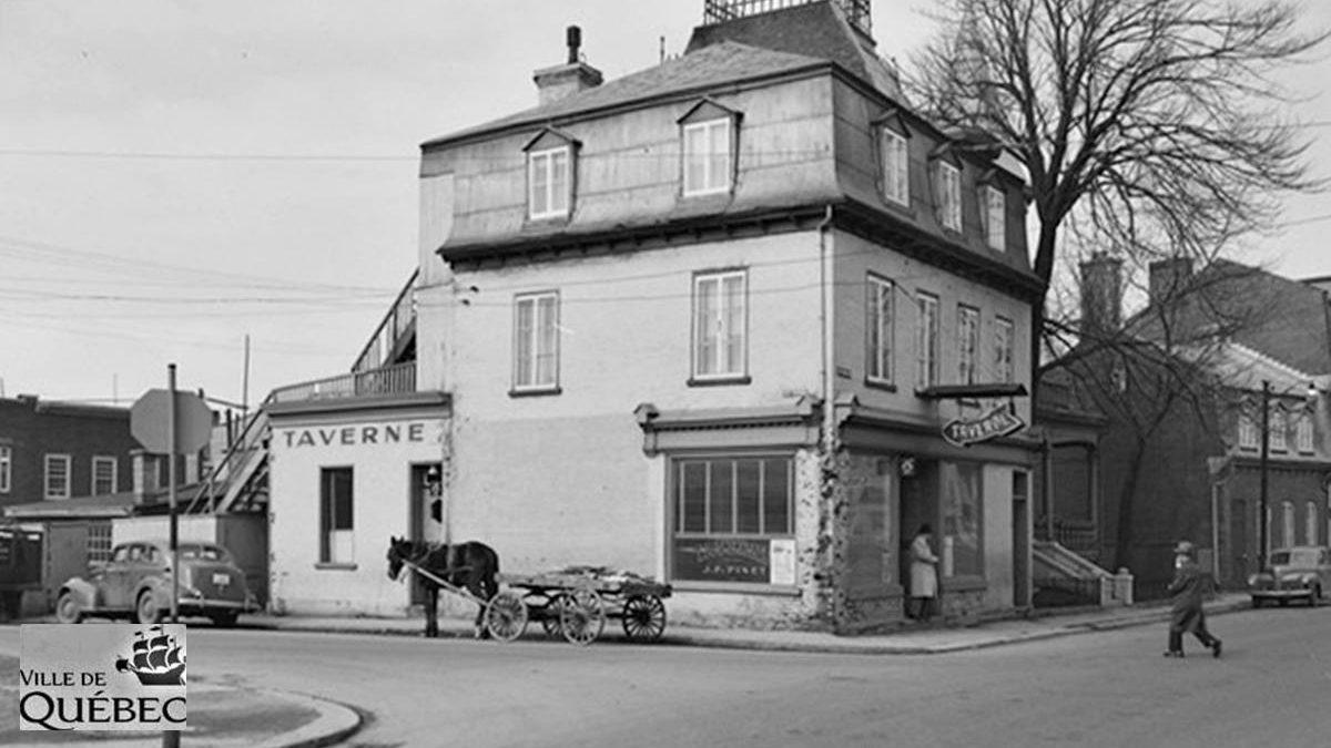 Saint-Sauveur dans les années 1950 (11) : taverne au coin Saint-Vallier et Renaud | 15 novembre 2020 | Article par Jean Cazes