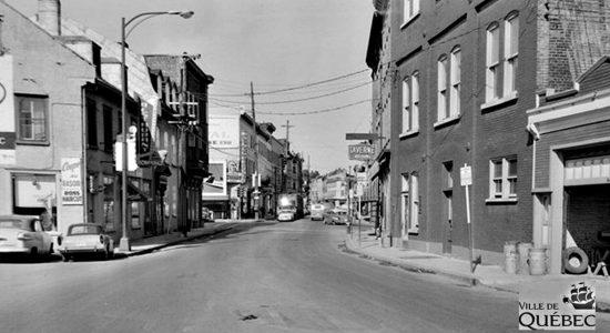 Saint-Sauveur dans les années 1960 (30) : rue Saint-Vallier Ouest - Jean Cazes