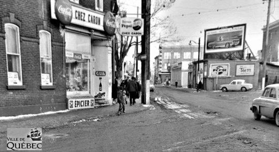 Saint-Sauveur dans les années 1960 (30) : Chez Caron, coin D'Argenson et Saint-Joseph Ouest - Jean Cazes