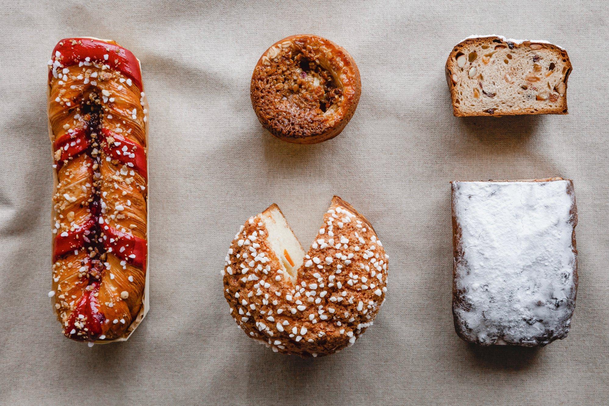 Pâtisseries du temps des Fêtes | Boulangerie Borderon et Fils