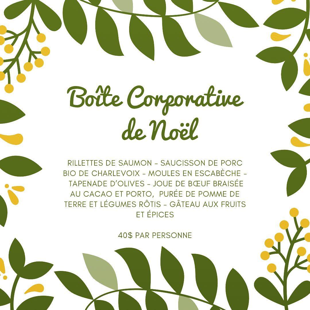 Boîte corporative de Noël | Fin Gourmet