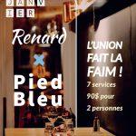 Pied Bleu X Renard - Renard et la chouette (Le)