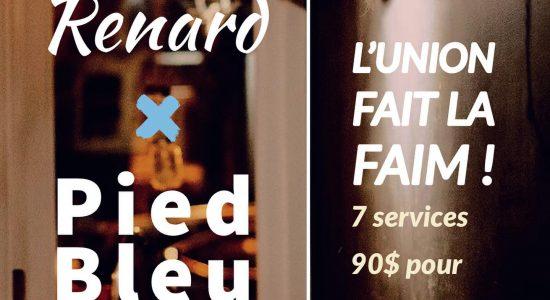 Pied Bleu X Renard | Renard et la chouette (Le)