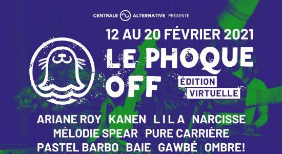 Une édition numérique pour Le Phoque OFF 2021 - Julie Rheaume