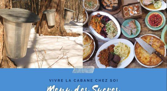 Menu cabane à sucre | Pied bleu (Le)
