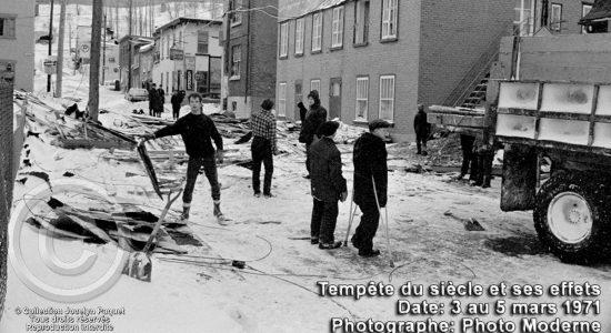 Saint-Sauveur dans les années 1970 (18) : une « Tempête du siècle » dévastatrice sur De Mazenod - Jean Cazes