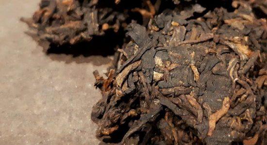 Atelier de dégustation: Le pu'er (thé fermenté)