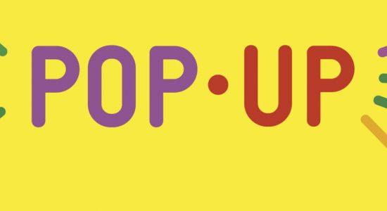Pop-up dans la ville