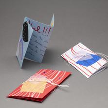 Cartes de souhaits   Atelier de dessin et de collage
