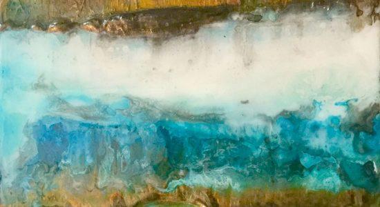 Exposition «Amarrer les mots»   Artiste invitée: Isabel Picard