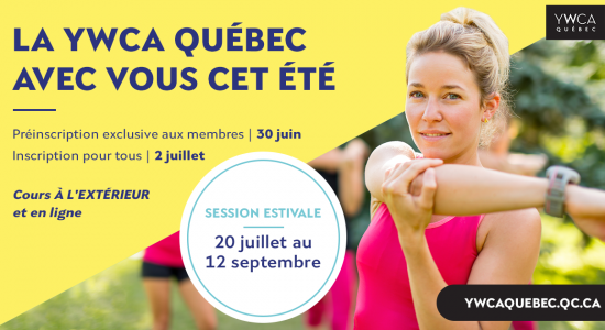Inscription été   YWCA Québec