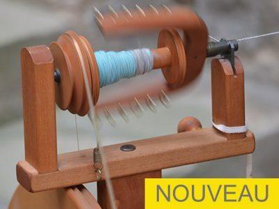 Filage de laine de mouton