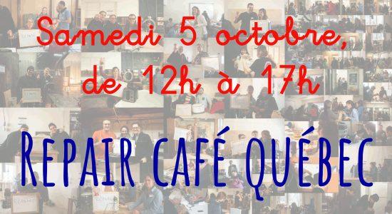 Repair Café Québec, troisième!