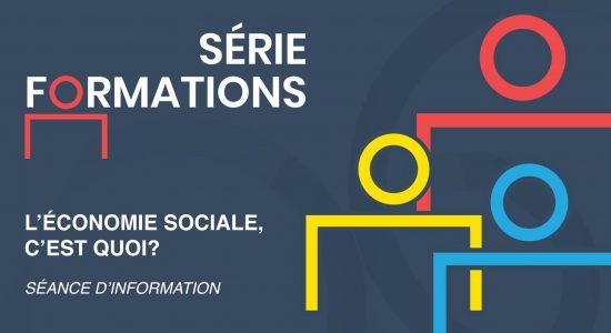 Séance d'information – L'économie sociale, c'est quoi?