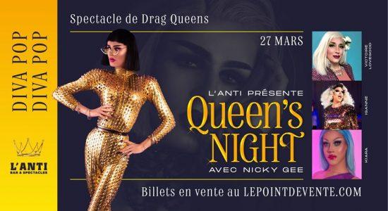 Queen's Night St-Roch – DIVA POP