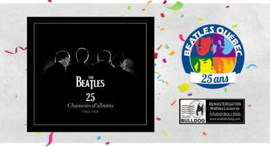 Lancement à Québec : CD Beatles Québec – 25 chansons d'albums