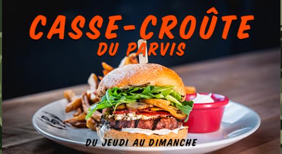 Casse-croute du Parvis   Pub du Parvis