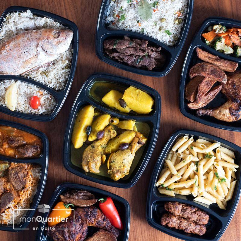 Boîte prêt-à-manger orientale