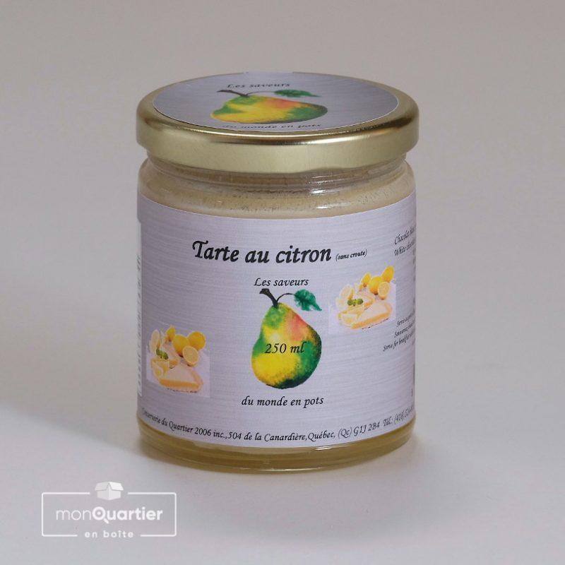 Tartinade Tarte au citron