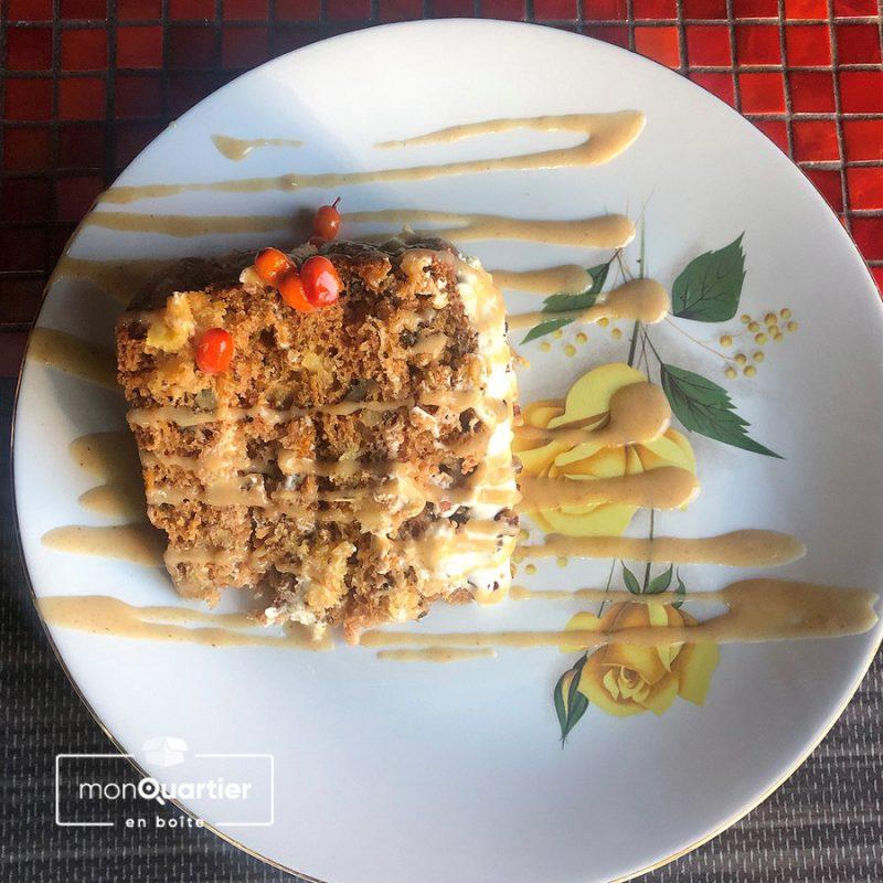 Gâteaux aux carottes et fromage à la crème