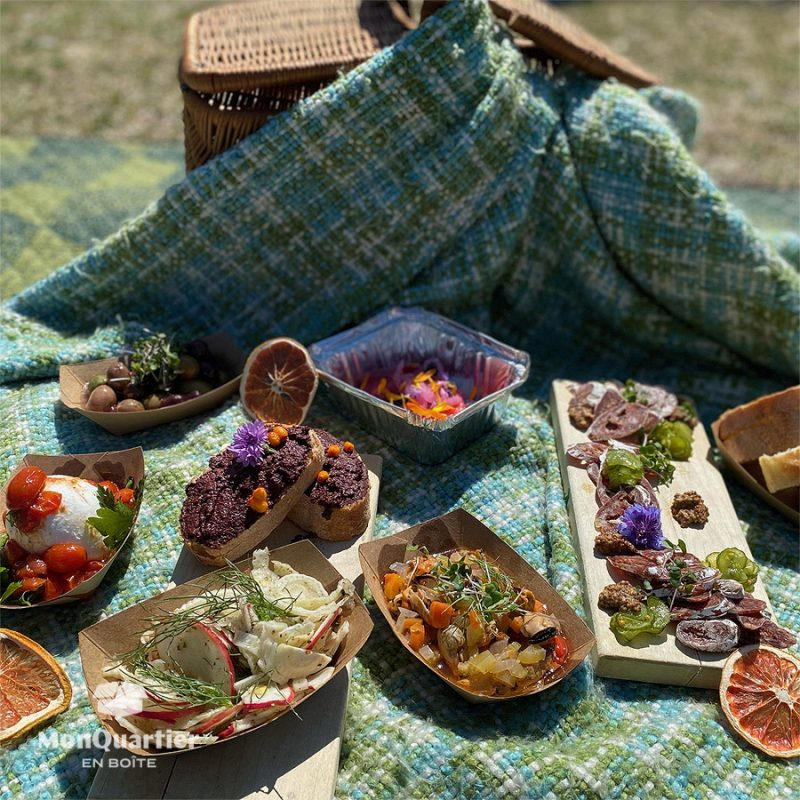 Boîte Pique-Nique du Fin Gourmet