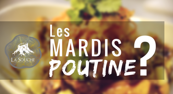 Mardis poutine mystère   Brasserie artisanale La Souche