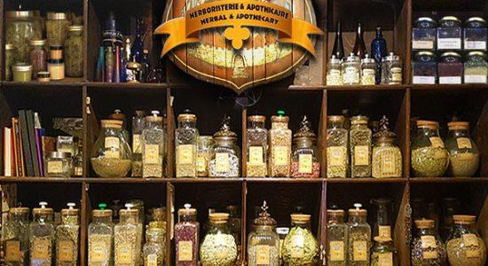 Service personnalisé d'herboristerie en boutique et en ligne   Charme & Sortilège