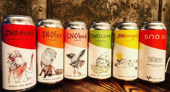 Bières à emporter chez SNO Microbrasserie | SNO Microbrasserie Nordik