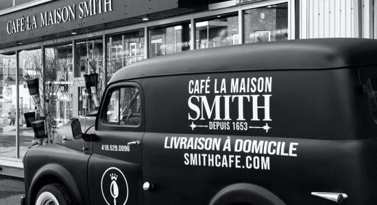 Livraison de café et de petits plats réconfortants | Café La Maison Smith