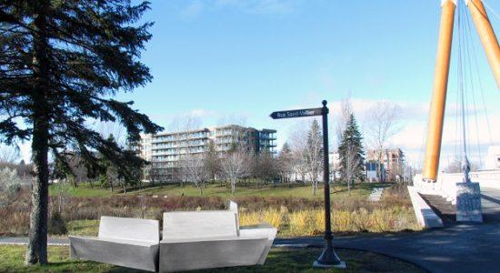 Des sculptures-bancs de Melvyn Flórez pour la rivière Saint-Charles - Suzie Genest