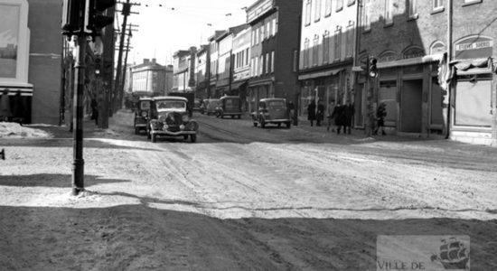 Saint-Sauveur dans les années 1940 (14): Intersection de la rue Saint-Vallier et de la rue Saint-Joseph - Jean Cazes