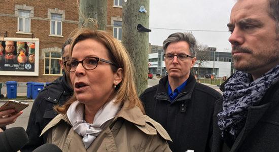 Anne Guérette promet un gel des taxes pour les commerçants - Céline Fabriès