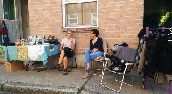Bazars et ventes de trottoirs dans Saint-Sauveur pour la Fête des voisins - Monsaintsauveur
